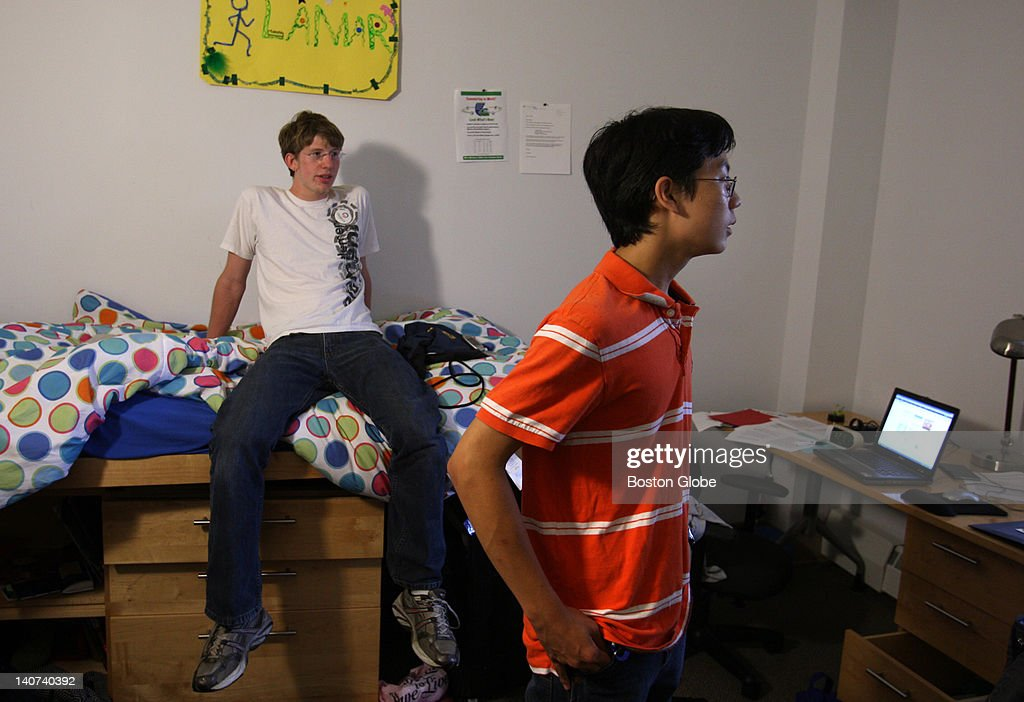 Roland Liu Right With His Roommate Tom Lamar In Their Dorm Room At Olin  College Of Part 75