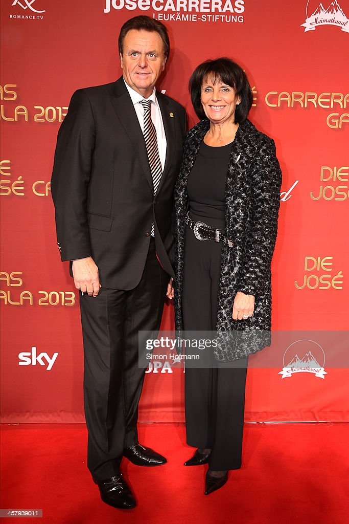 Roland Mack and Marianne Mack attend the 19th Annual Jose Carreras Gala at Europapark on December 19, 2013 in Rust, Germany.