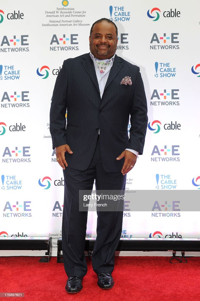<a gi-track='captionPersonalityLinkClicked' href=/galleries/search?phrase=Roland+Martin&family=editorial&specificpeople=5490103 ng-click='$event.stopPropagation()'>Roland Martin</a> attends the A+E hosted NCTA Chairman's Reception at the Smithsonian American Art Museum & National Portrait Gallery on June 11, 2013 in Washington, DC.