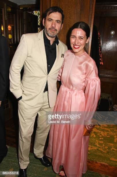 Roland Mouret and Emilia Wickstead attend a combined celebratory VIP dinner marking The Ivy's centenary year and 150 years of Harper's Bazaar...