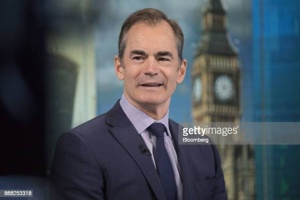 Roland Rudd chairman of RLM Finsbury LLC speaks during a Bloomberg Television interview in London UK on Friday Dec 8 2017 The UK and the European...