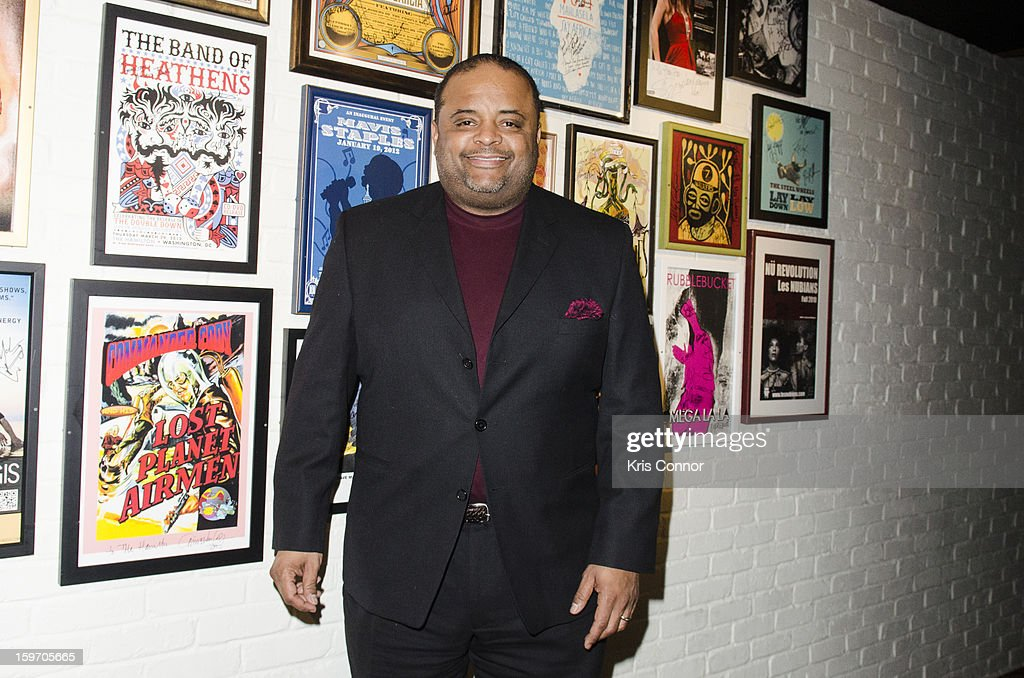 Roland S. Martin poses for a photo during the St. Jude Children's Research Hospital Inaugural Benefit Reception on January 18, 2013 in Washington, United States.