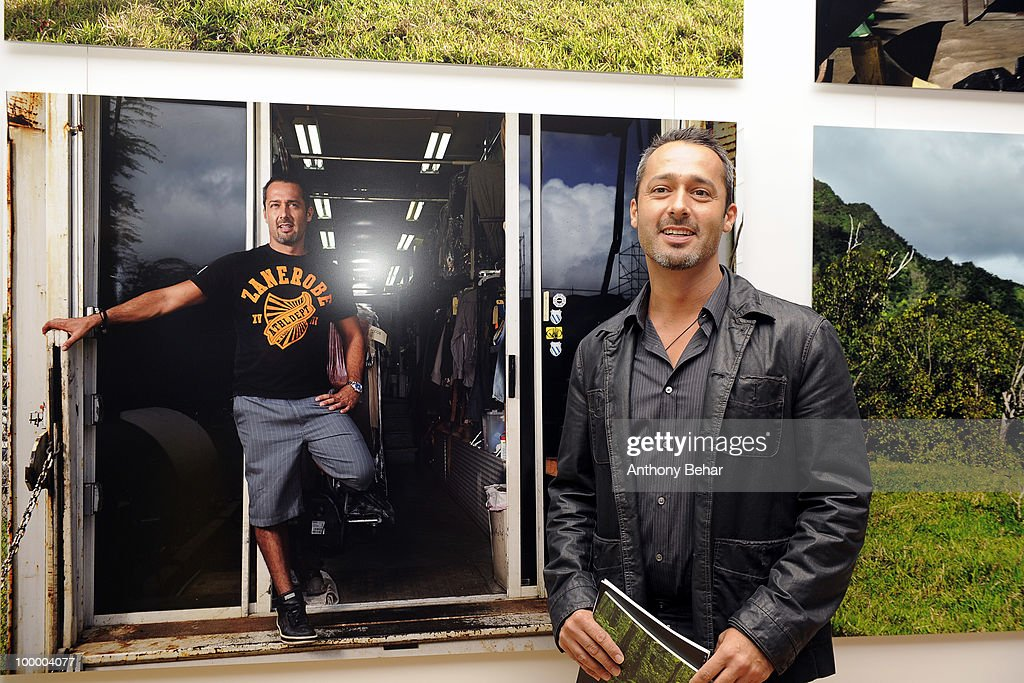 Roland Sanchez attends the opening the Vilcek Foundation's exhibition of