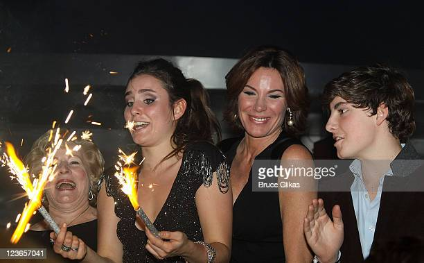Rolande Nadeau Victoria de Lesseps Countess LuAnn de Lesseps and Noel de Lesseps attend Victoria de Lesseps' 16th Birthday Party at Arena on December...