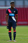 Rolando Aarons of Newcastle in action during the pre season friendly match between Gateshead and Newcastle United at Gateshead International Stadium...