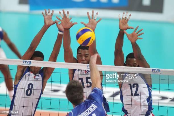 Rolando Cepeda / Dariel Albo / Henry Bell France / Cuba Phase de groupes de la Ligue Mondiale Toulouse