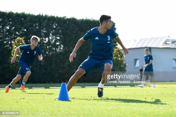 Rolando Mandragora of Juventus during a training session on July 17 2017 in Vinovo Italy