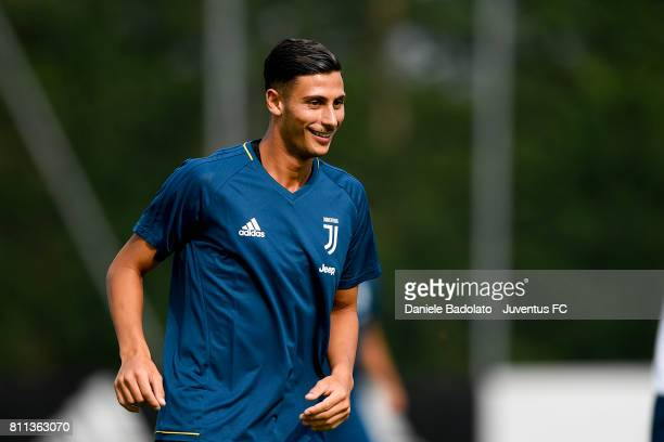 Rolando Mandragora of Juventus during the afternoon training session on July 9 2017 in Vinovo Italy