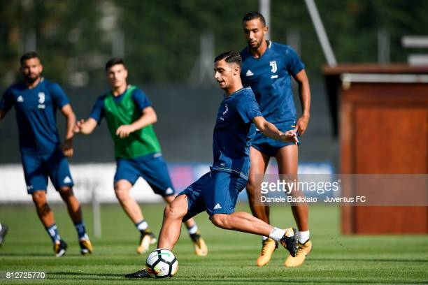 Rolando Mandragora of Juventus during the afternoon training session on July 11 2017 in Vinovo Italy