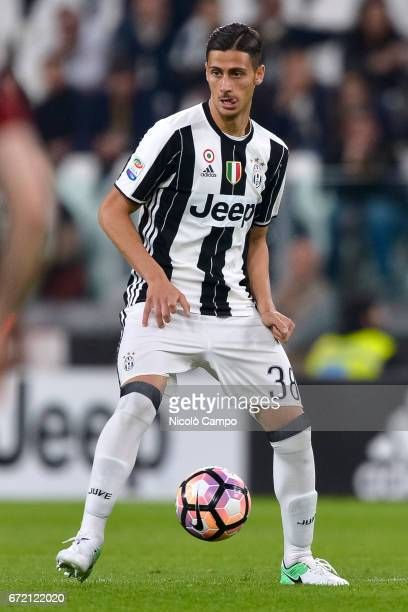 Rolando Mandragora of Juventus FC in action during the Serie A football match between Juventus FC and Genoa CFC Juventus FC wins 40 over Genoa CFC