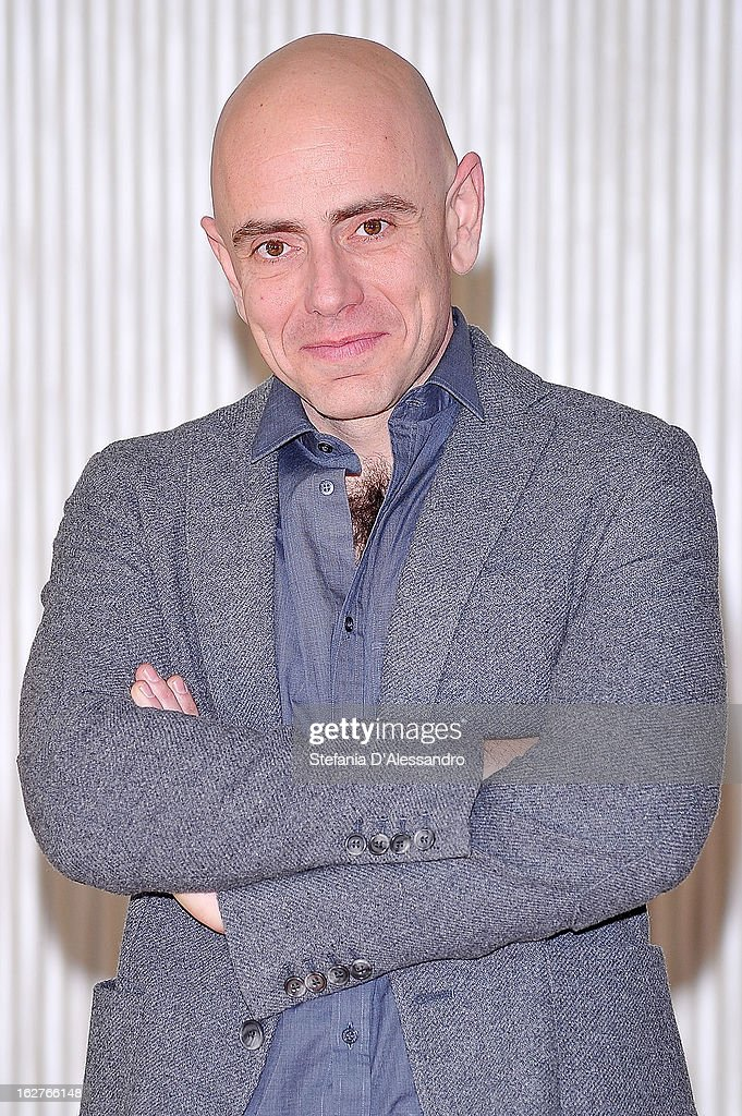 Rolando Ravello attends 'Tutti Contro Tutti' Photocall on February 26, 2013 in Milan, Italy.