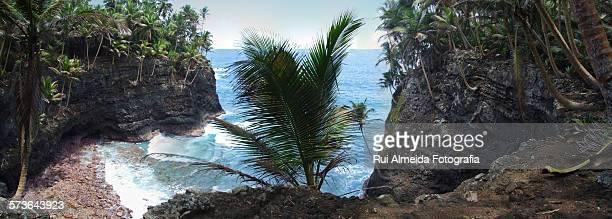 Rolas Island cliffs