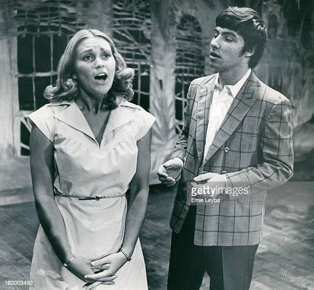 JUN 29 1975 JUL 16 1975 Roles In Damon Runyon Story Tris Schwartz is Sarah Brown and Jeff Watson plays part of Sky Masterson in Frank Loesser's...
