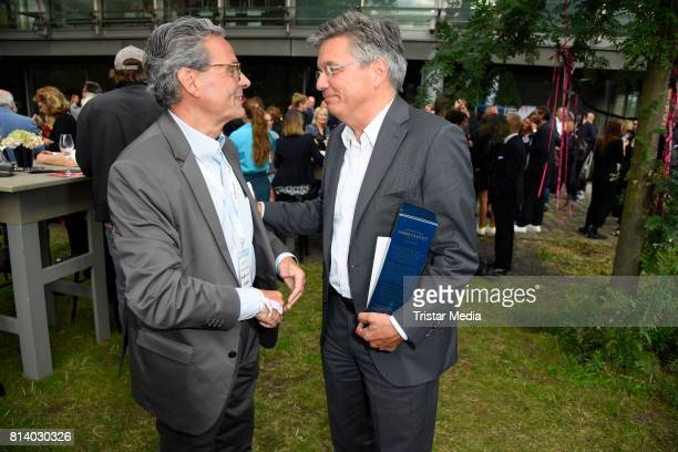 Rolf Budde and Alexander Thies attend the 70th anniversary party of Budde Music on July 13 2017 in Berlin Germany