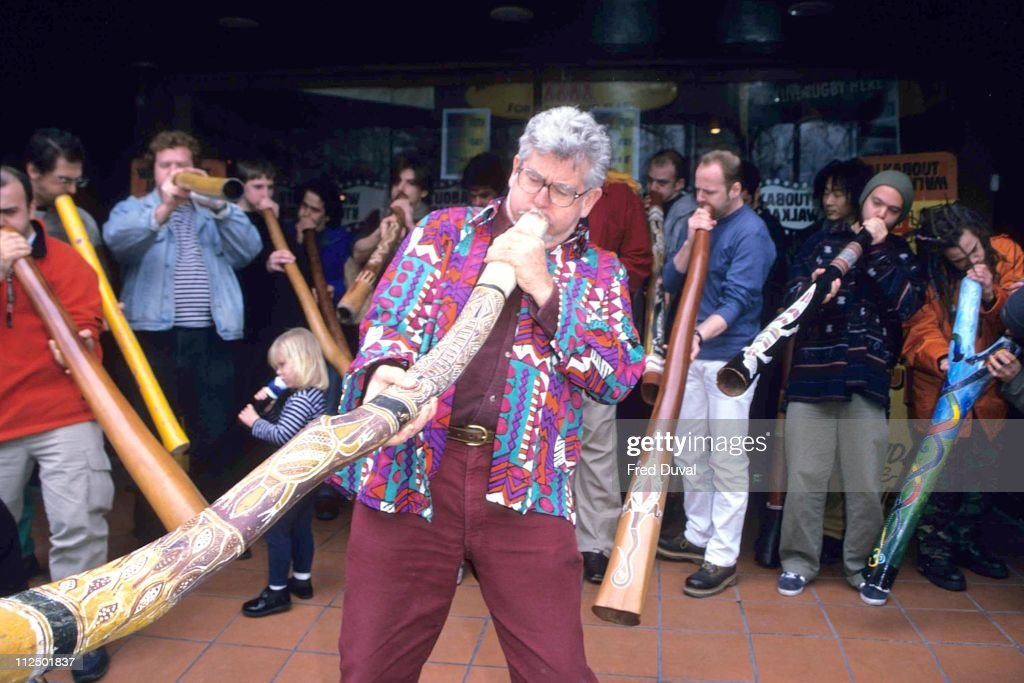 Rolf Harris during Rolf Harris 70th Birthday February 1 2000 in London Great Britain