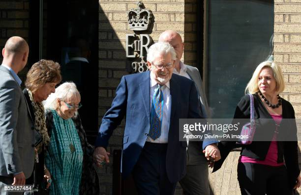 Rolf Harris leaves Southwark Crown Court following jury selection after the 84yearold pleaded not guilty to 12 charges dating back to the late 1960...