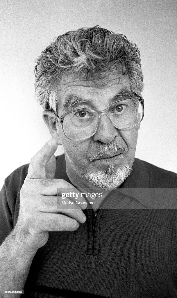 Rolf Harris portrait London United Kingdom 1997