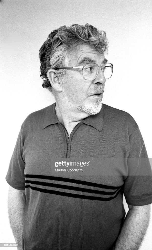 Rolf Harris, portrait, London, United Kingdom, 1997.