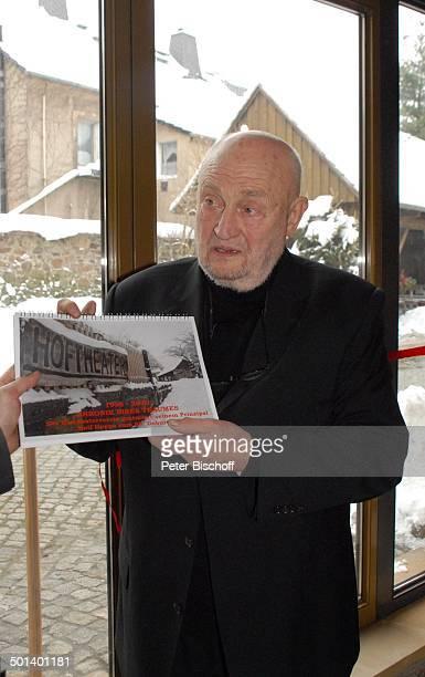 Rolf Hoppe Geburtstagfeier und Gala zum 80 Geburtstag von Rolf Hoppe Theater 'Rolf Hoppes Hoftheater' Dresden Sachsen Deutschland Europa Feier...