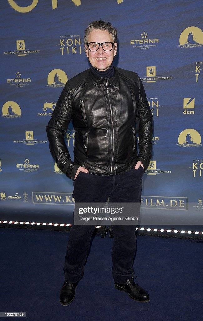 Rolf Scheider attends the 'Kon-Tiki' Premiere at Kino International on March 6, 2013 in Berlin, Germany.