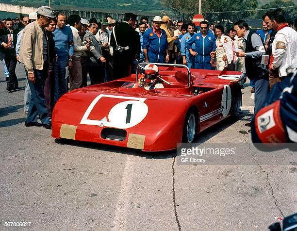 Rolf StommelenNino Vaccarella's Alfa Romeo T33 at the Targa Florio Sicily 16 May 1971
