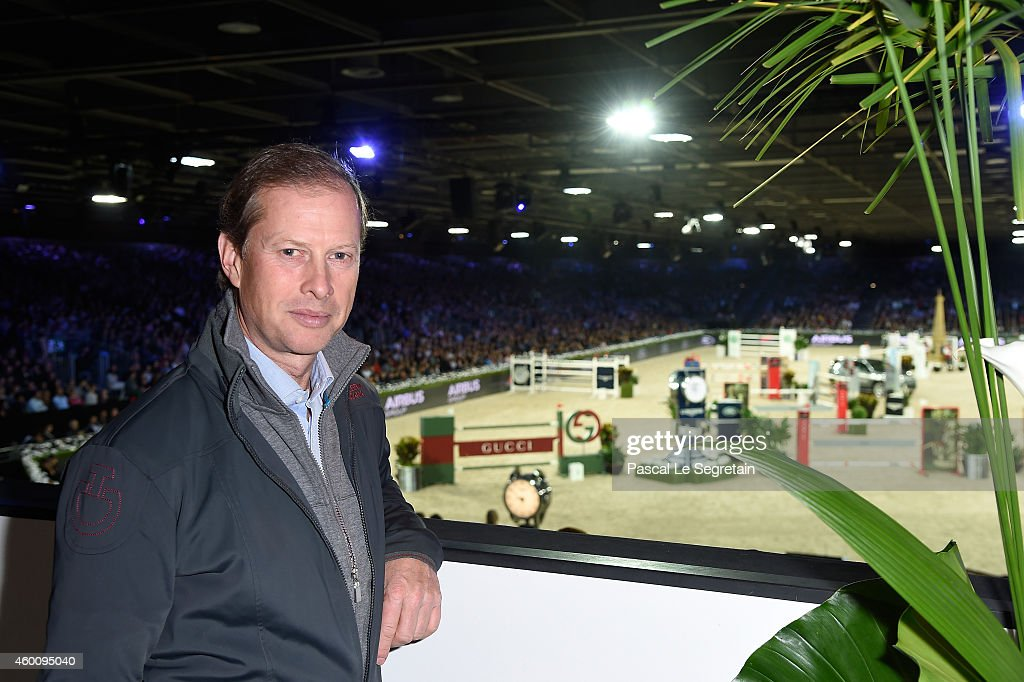 Rolf-Goran Bengtsson attends Day 3 of the Gucci Paris Masters 2014 on December 6, 2014 in Villepinte, France.