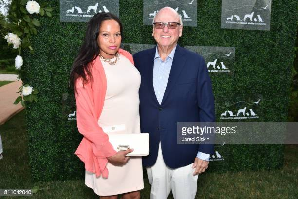 Rolise Rachel and Howard Lorber attend the Southampton Animal Shelter Foundation's Eighth Annual Unconditional Love Gala Honoring Jean Shafiroff and...