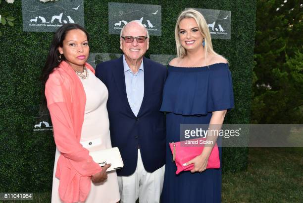 Rolise Rachel Howard Lorber and Katie McEntee attend the Southampton Animal Shelter Foundation's Eighth Annual Unconditional Love Gala Honoring Jean...