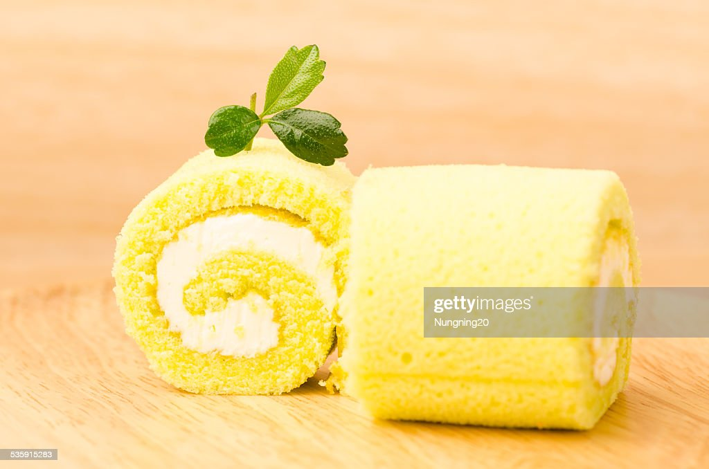 Roll cake : Stock Photo