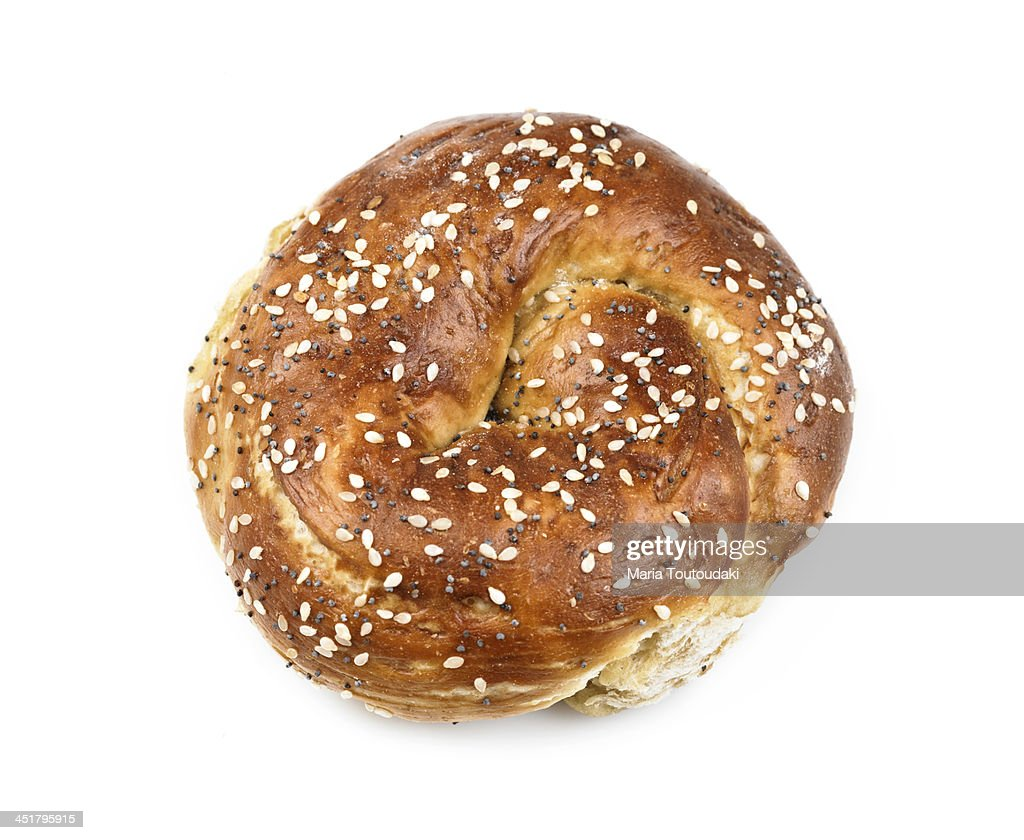 Roll of bread : Stock Photo