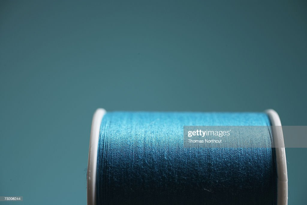 Roll of cotton, close-up : Stock Photo