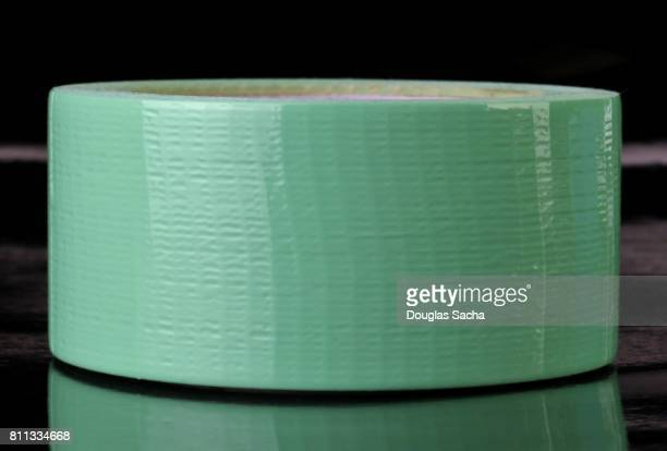 Roll of green pastel sticky duct tape