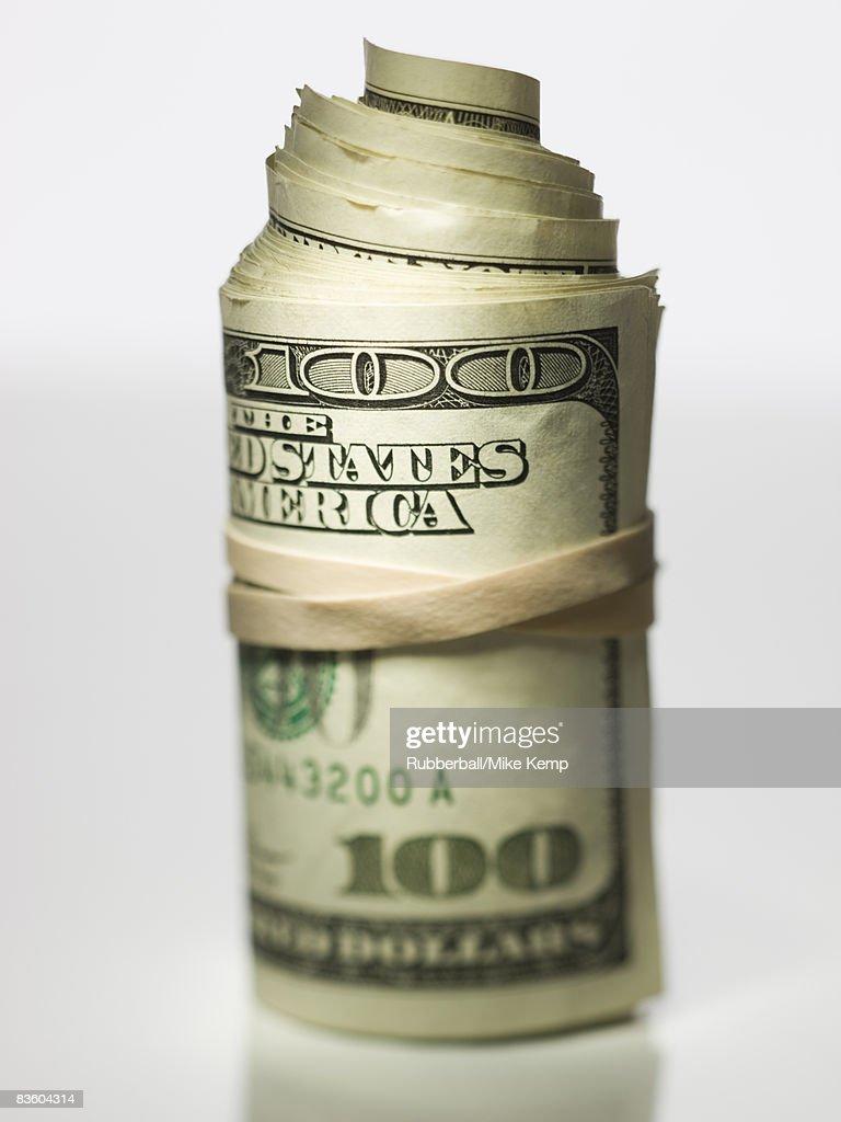roll of money : Stock Photo