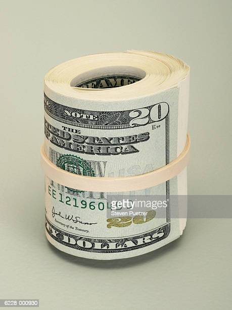 Roll of Paper Notes
