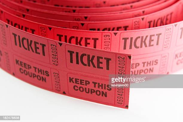 Roll of Tickets closeup