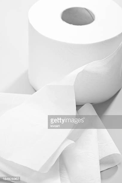 Rolle von Toilettenpapier
