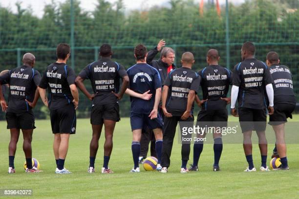 Rolland COURBIS Nouvel entraineur de Montpellier pour les quatre derniers matchs de la saison Entrainement Montpellier