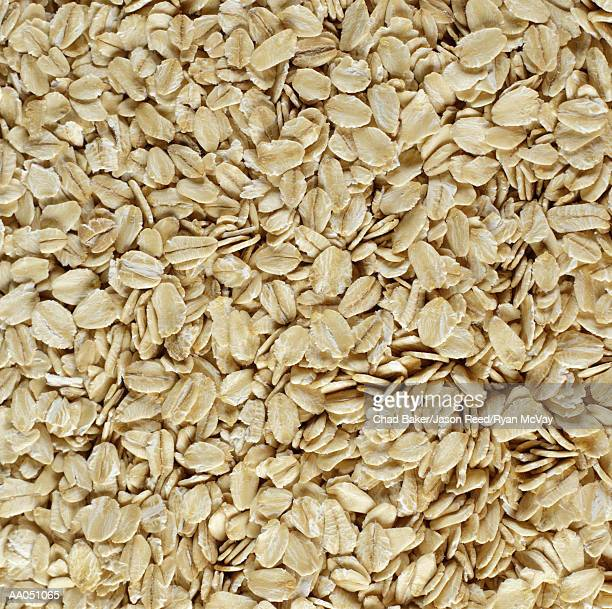 Rolled oats, full frame