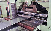 Steel sheet was released from roller in slitting process