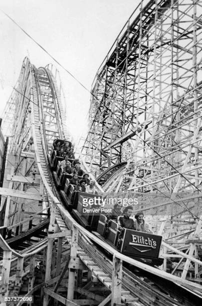 Roller coaster fan Bill Figie likes wooden coasters like Elitch's Twister Credit Denver Post Inc