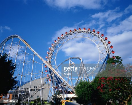 Roller coaster : Stock Photo