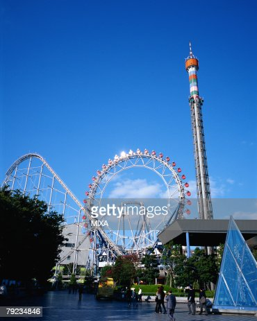 Roller coaster : Stock Photo
