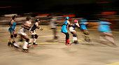 Roller Derby Pack in Motion