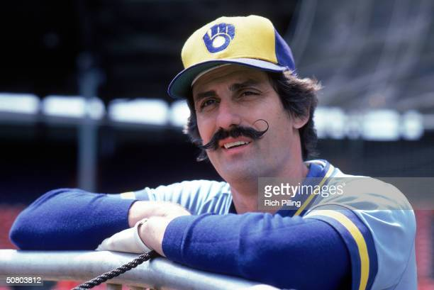 Rollie Fingers of the Milwaukee Brewers poses for a portrait during the 1982 season