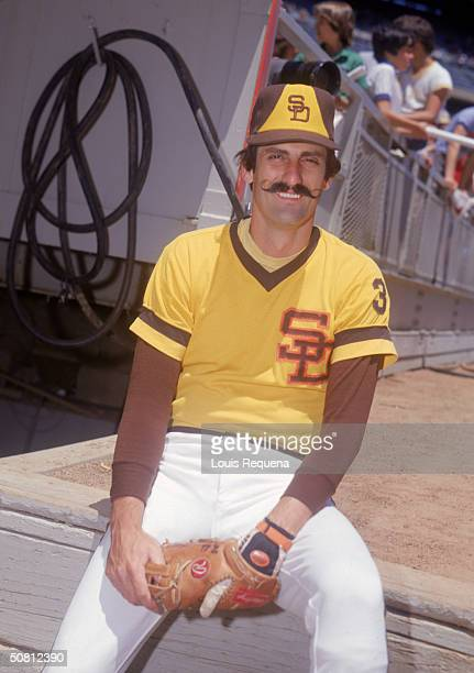 Rollie Fingers of the San Diego Padres poses for a portrait Fingers played for the Padres from 19771980