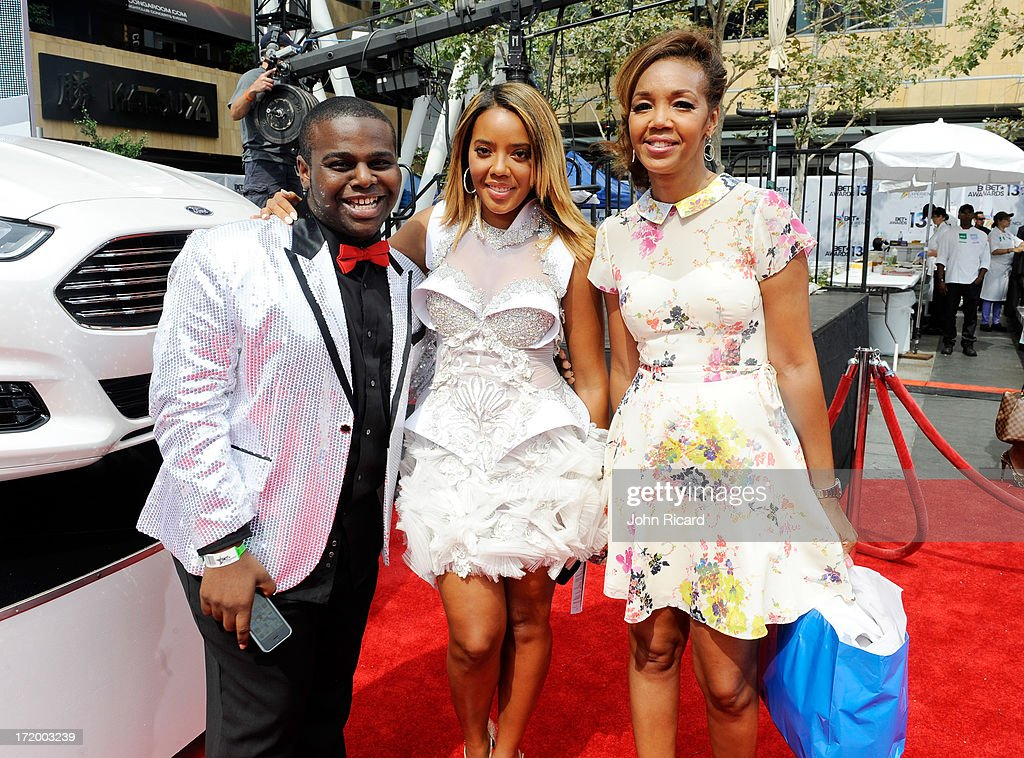 'Rollin' with Ford and the BET Awards' winner Byron Keaton TV personality Angela Simmons and Multicultural marketing manager for Ford Motor Company...