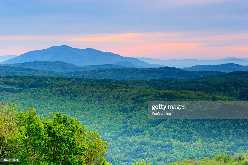 Rolling Mountains of Vermont