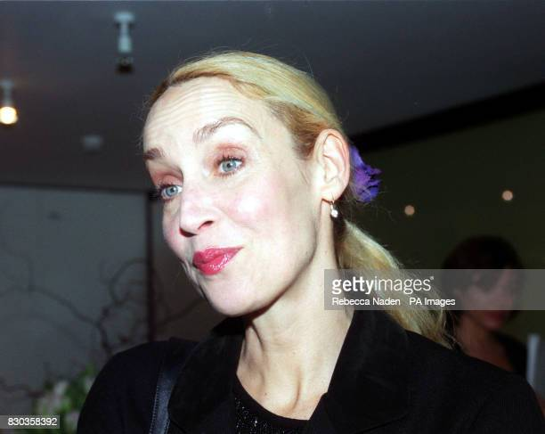 Rolling Stone Mick Jagger's ex wife Jerry Hall at Dartford Grammar school in Kent where the rock veteran opened 'The Mick Jagger Centre' a new...