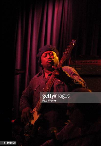 Rolling Stones bassist Darryl Jones performs with the Bitches Brew 40th Anniversary Band during the 2011 Miles Davis Festival at Martyr's on March 31...