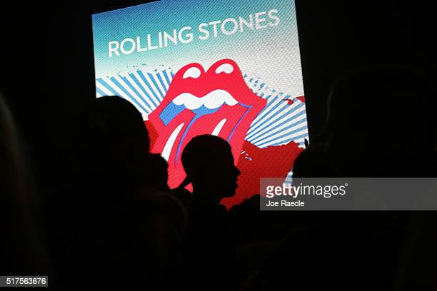 Rolling Stones fans arrive for a free concert March 26 2016 in Havana Cuba Thousands of fans waited for the Rolling Stones to play for the first time...